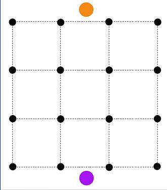 Max-flow min-cut theorem - Each black node denotes a pixel.