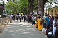 Immigration Check Queue - Jessore Road - Petrapole - North 24 Parganas 2015-05-29 1331.JPG