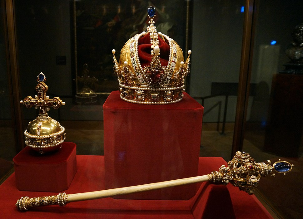 Imperial Crown Orb and Sceptre of Austria (Imperial Treasury)
