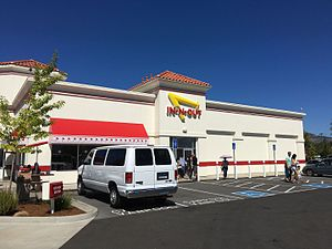 In-N-Out Burger - In-N-Out in Medford, Oregon, the first in the state.