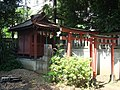 Inari Shrine (稲荷神社) in Yoga Shrine (用賀神社) - panoramio.jpg