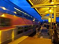 Inbound Franklin Line train at Readville.JPG
