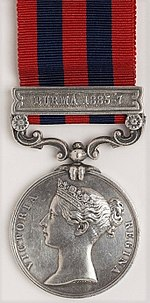 India General Service Medal, clasp Burma 1885-7. Obverse.jpg