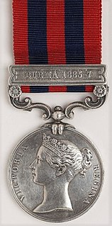 India General Service Medal (1854)
