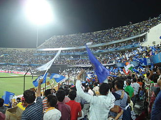 Deccan Chargers - Deccan Chargers home crowd in 2011