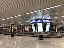 Infopoint digitale all'aeroporto di Roma Fiumicino