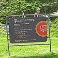 Information signboard of archaeological site in Vinča.jpg