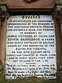 Inscription, Monument, Holywood - geograph.org.uk - 1618626.jpg