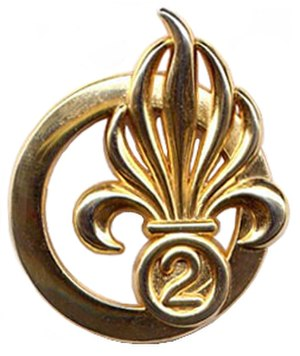 2nd Foreign Engineer Regiment - Image: Insigne de béret du 2e REG