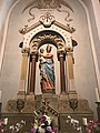 Intérieur de la seconde église Saint-Julien de Beynost (Ain, France) en août 2018 -- 10.JPG