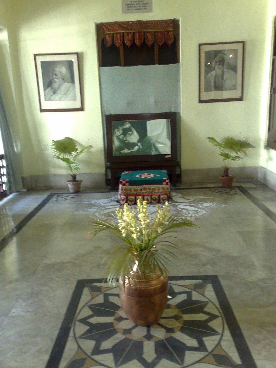 Interior room, Jorasanko Mansion, Kolkata, India