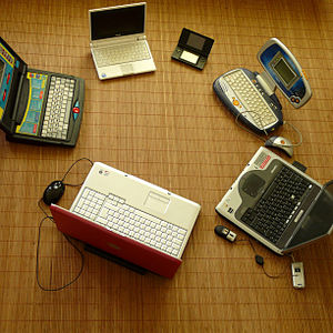 Various mobile devices creating interoperability.