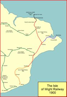 Isle of Wight Railway  Wikipedia