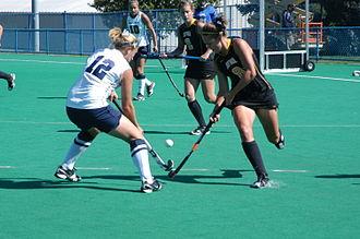 Iowa Hawkeyes field hockey - The 2010 Iowa field hockey team in action at Penn State