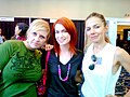 Irina Slutsky, Felicia Day and Justine Bateman.jpg
