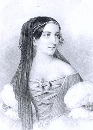 Isabella Jagiellon - 19th-century portrait of Isabella