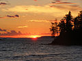 Isle Royale Todd Harbor sunset.jpg