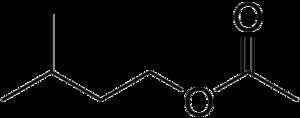 Aroma compound - Image: Isoamyl acetate