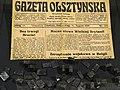 Issue of Gazeta Olsztynska from 31 August 1939 - Day before Nazi Invasion - House of the Olsztyn Gazette - Olsztyn - Warmia & Masuria - Poland (27943174671).jpg