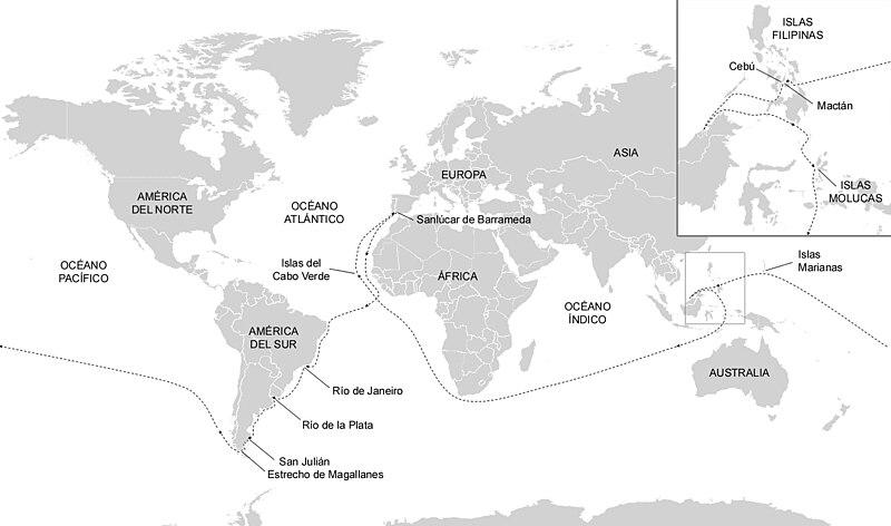 Archivo:Itinerario de Magallanes y Elcano.jpg