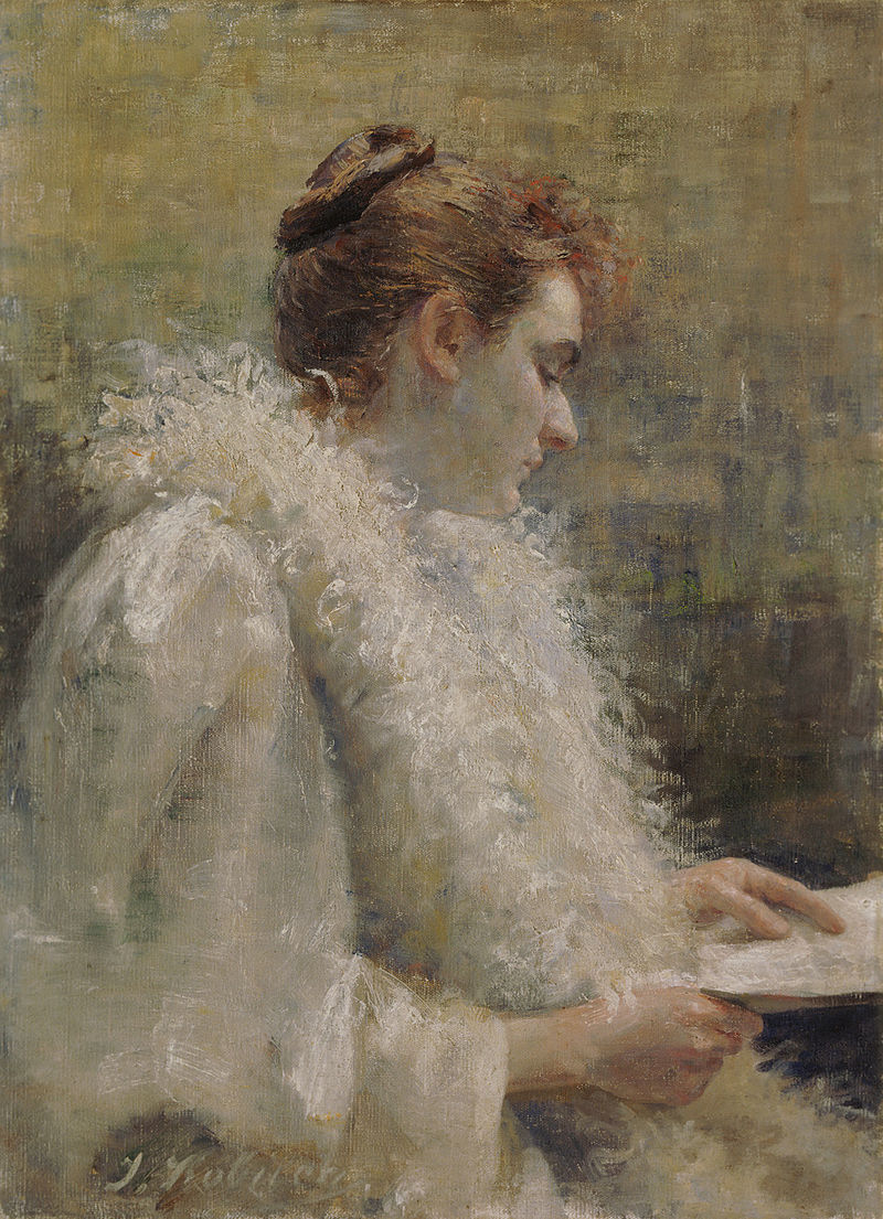 Ivana Kobilca - Parizanka s pismom.jpg