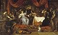 J.H. Steen - Het feestmaal van Marcus Antonius en Cleopatra - R816 - Cultural Heritage Agency of the Netherlands Art Collection.jpg