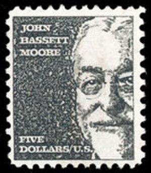 John Bassett Moore - John Bassett Moore postage stamp