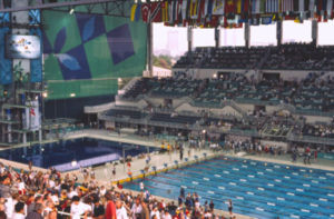 Georgia Tech Campus Recreation Center - Georgia Tech Aquatic Center during the 1996 Summer Olympics