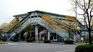 Yaho Station railway station in Kunitachi, Tokyo, Japan