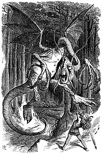 "John Tenniel's original illustration of ""..."