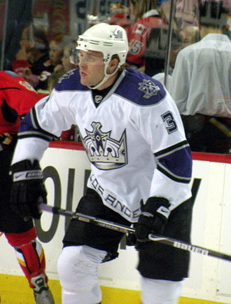 Jack Johnson (ice hockey) - Johnson during his tenure with the Los Angeles Kings