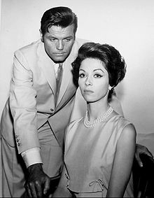 Jack Lord Dana Wynter 1965.JPG