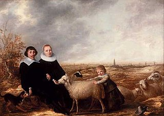 Family Portrait with a View of Rhenen