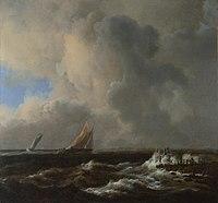 Jacob van Ruisdael - Vessels in a fresh breeze.jpg