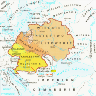 Jagiellonian dynasty ruled in Poland, Lithuania, Bohemia, Hungary and Croatia