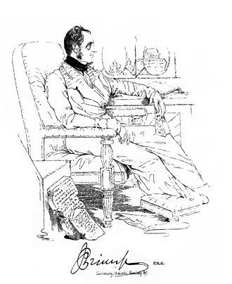 James Prinsep - Portrait by Colesworthey Grant (c. 1838)