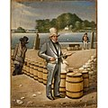 James Alexander Simpson - George Shoemaker Inspecting Flour for the Port of Georgetown - S-NPG.97.1 - National Portrait Gallery.jpg