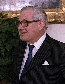 James Callaghan en mars 1978.