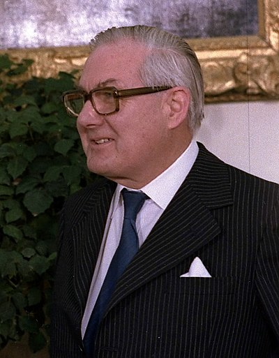 James Callaghan, former Prime Minister of the United Kingdom