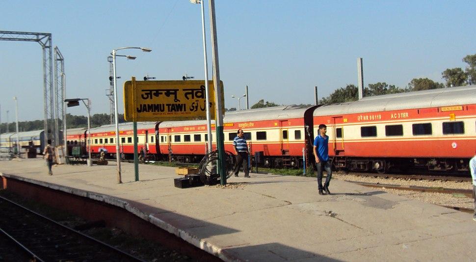 Jammu Tawi to Delhi - Rail side views 02