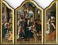 Jan Mertens ml. – dielňa autora - Triptych Klaňania troch kráľov - O 6807 - Slovak National Gallery.jpg