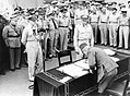 Japanese Surrender at Tokyo Bay, 2 September 1945 A30427.jpg