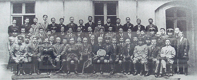 Japanese delegation at the Paris Peace Conference, 1919 Japanese delegation at the Paris Peace Conference 1919.jpg