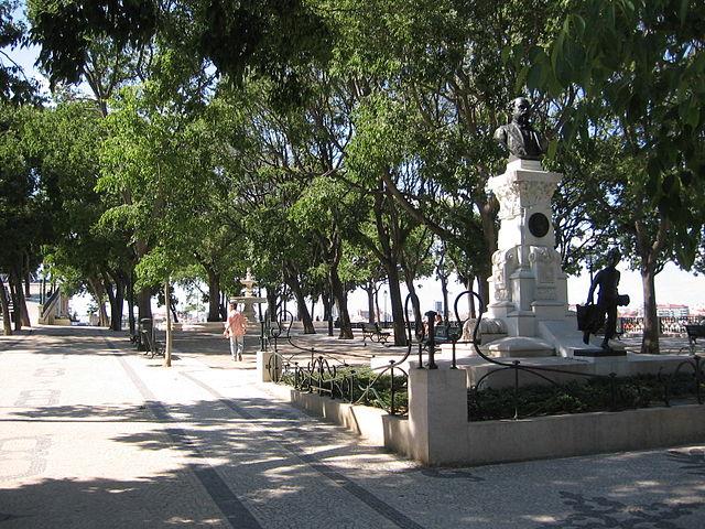Jardín de São Pedro de Alcântara