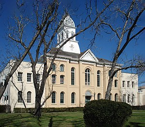 Jasper, Texas - The Jasper County Courthouse