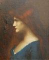 Jean-Jacques Henner-Jeune fille à la robe bleue-Musée sundgauvien.jpg