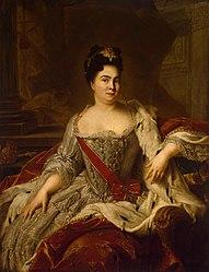 Jean-Marc Nattier: Portrait of Catherine I of Russia