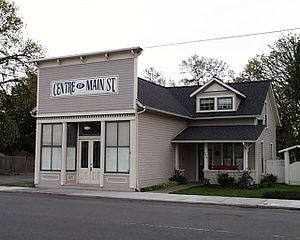 Jefferson, Oregon - T. M. and Emma Witten Drug Store-House in Jefferson