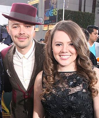 Mexican duo Jesse & Joy, winner in 2017 Jesse & Joy at the 2012 Latin Grammys.jpg