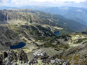 Retezat-Godeanu Mountains group - Glacial lakes in the Retezat Mountains